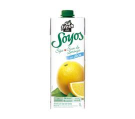 Bebida de Soja Soyos Laranja 1 litro
