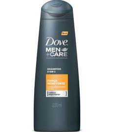 Shampoo Dove men+care 2 em 1 força e resistência 200ml