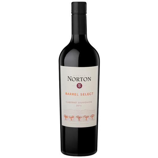Vinho Argentino Norton Barrel Select  Cabernet Sauvignon 750ml - Imagem em destaque