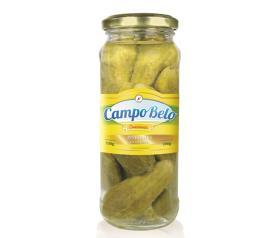 Pepino Campo Belo conserva vidro 200g