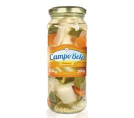 Picles Campo Belo conserva em vidro 200g
