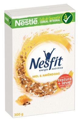 NESTLÉ NESFIT Cereal Matinal Mel & Amêndoas Caixa 300g