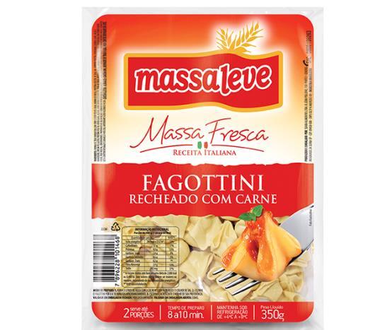 Fagottini Massa Leve Recheio de Carne 350g - Imagem em destaque