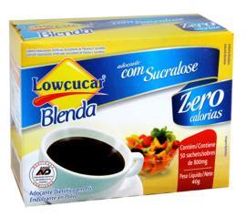 Adoçante Lowçucar blenda com 50 unidades 40g