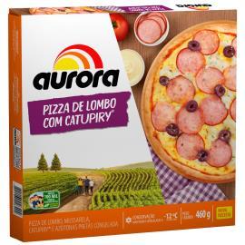Pizza Lombo com Requeijão Aurora 460g
