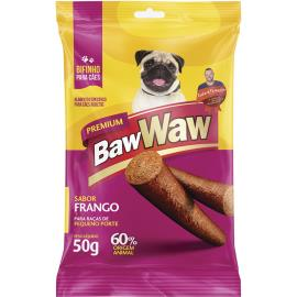 Bifinho de frango Baw Waw para cães raças pequenas 50g