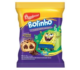 Bolinho Bauducco sabor baunilha com gotas de chocolate 40g