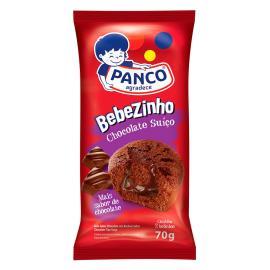 Bolo Panco bebezinho chocolate com chocolate suìço 70g