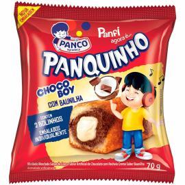 Mini bolo Panco Panquinho chocoboy 70g