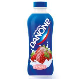 Iogurte Danone polpa frutas morango 900g