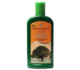 Shampoo Farmaervas jaborandi e óleo de argan 320ml