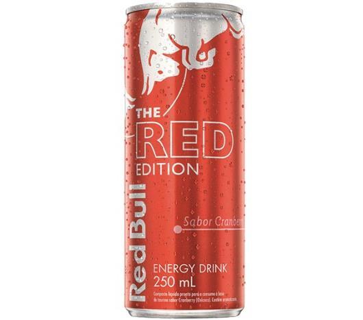 Energético Red Bull The Red Edition Sabor Cranberry edição limitada 250ml - Imagem em destaque