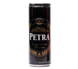 Cerveja Petra escura premium lata 350ml