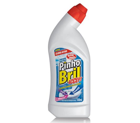 Limpador Sanitário Pinho Bril Acão Cloro Ativo 500ml - Imagem em destaque
