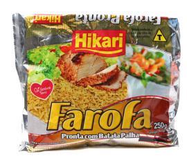 Farofa de mandioca Hikari com batata palha 250g