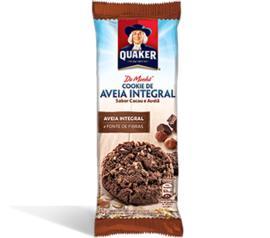 Cookie Quaker Aveia Cacau e Avelã 40g