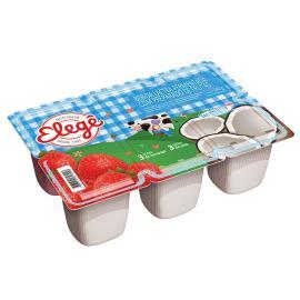 Bebida láctea Elegê polpa morango e coco 540g