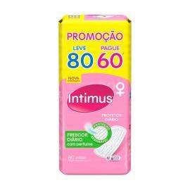 Protetor INTIMUS DAYS c/Perfume Leve 80 Pague 60 - 80 unidades
