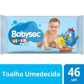 Toalha Umedecida ultra fresh Galinha Pintadinha Babysec