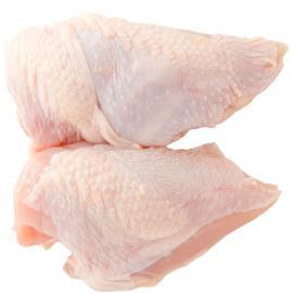 Peito de frango com osso e com pele Resfriado 1kg