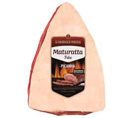 Picanha bovina tradicional Maturatta embalagem 1,4kg