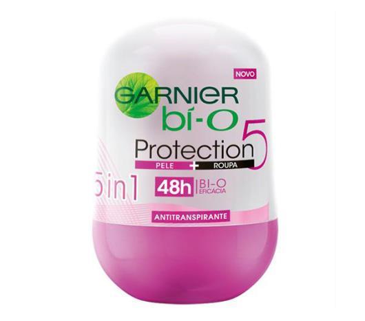 Desodorante Garnier bí-O roll on feminino proteção 5 50g - Imagem em destaque