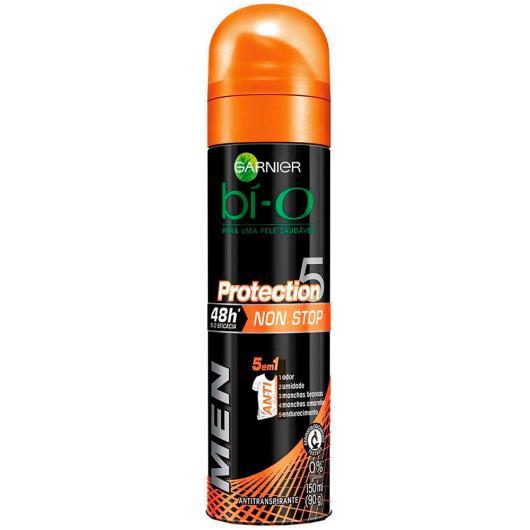 Desodorante Garnier bí-O aerossol men proteção 5 150ml - Imagem em destaque