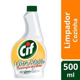 Refil Limpador Cif Ultra rápido desengordurante 500ml