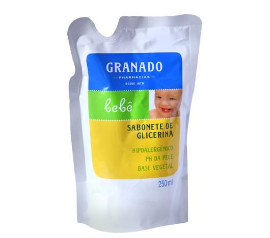 Sabonete Granado líquido bebê tradicional glicerinado refil 250ml - Imagem em destaque