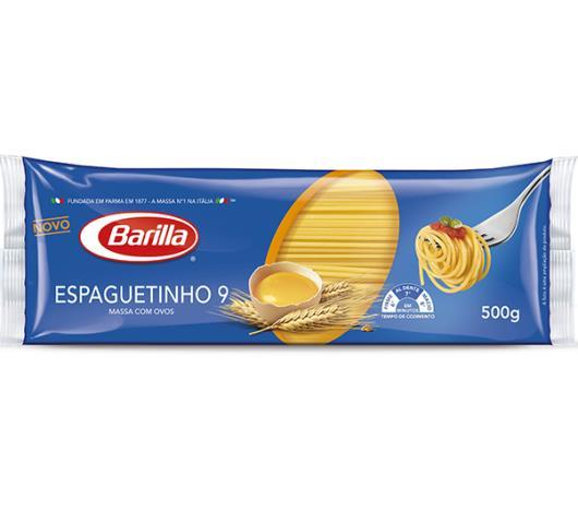 Macarrão Barilla com ovos espaguete n°9 500g - Imagem em destaque