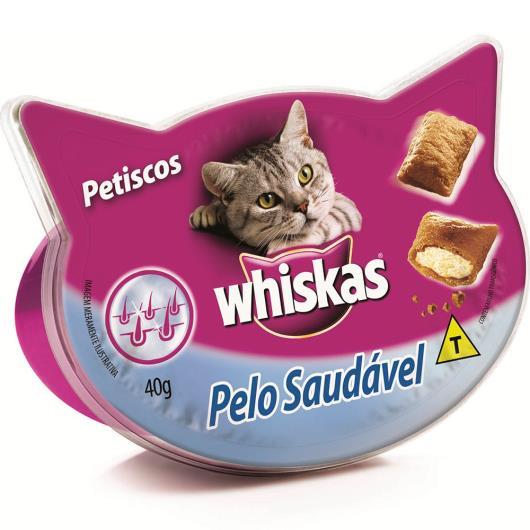 Petisco para gatos Whiskas temptations pelo saudável 40g - Imagem em destaque