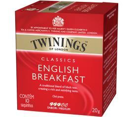 Chá Twinings preto classics english breakfast  20g