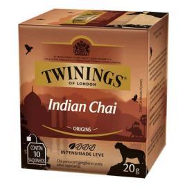 Chá preto Twinings origins Indian Chai 20g