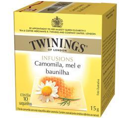 Chá Twinings de camomila, mel e baunilha  Infusions 15g