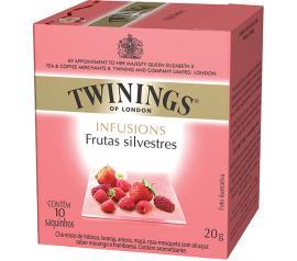 Chá de frutas silvestres Twinings Infusions 20g
