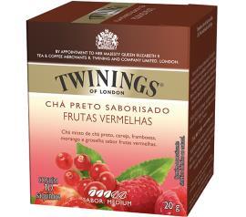 Chá preto Twinings de frutas vermelhas 20g