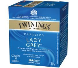 Chá preto classics lady grey Twinings 20g