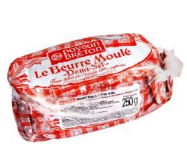 Manteiga Le Beurre Moulé com sal Paysan Breton 250g