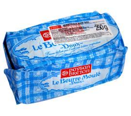 Manteiga Le Beurre Moulé sem sal Paysan Breton 250g