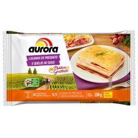 Lasanha Aurora presunto e queijo ao sugo 350g