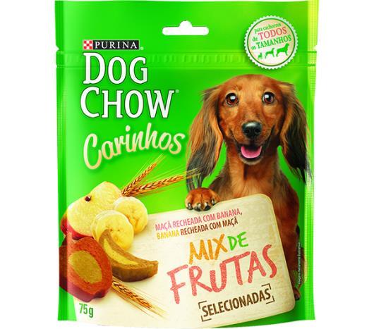 Alimento para cães Dog Chow carinhos mix de frutas 75g - Imagem em destaque