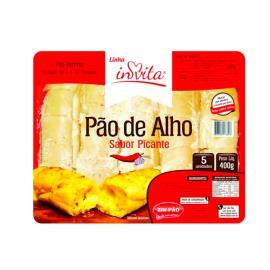 Pão de alho Invita picante 400g