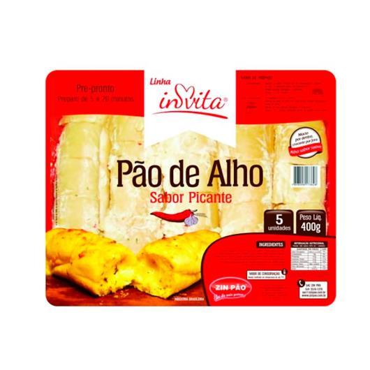 Pão de alho Invita picante 400g - Imagem em destaque