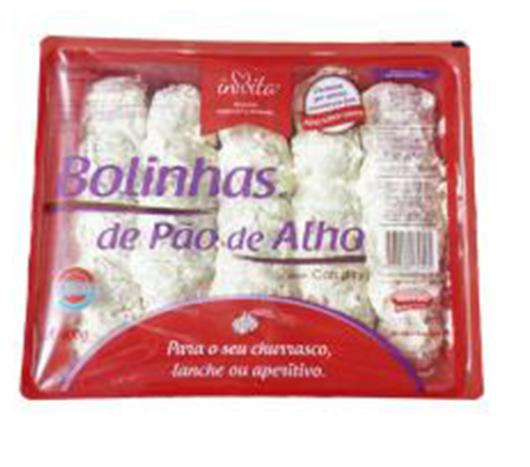 Pão de Alho Invita bolinhas recheadas 400g - Imagem em destaque