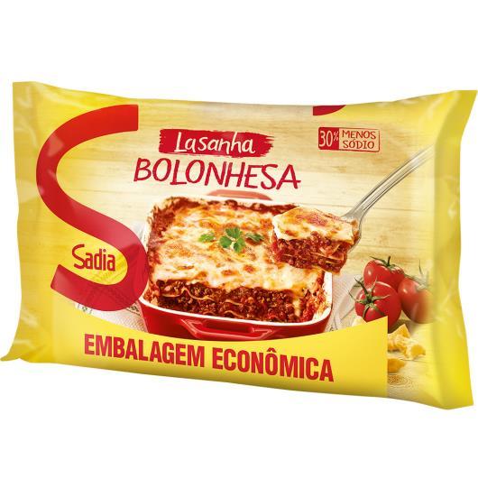 Lasanha Sadia Bolonhesa Embalagem Econômica 1 kg - Imagem em destaque
