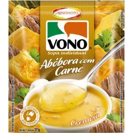 Sopa cremosa de abóbora com carne Vono 17g