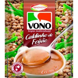 Sopa cremosa de caldinho de feijão Vono 18g