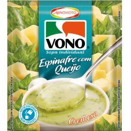 Sopa cremosa de espinafre com queijo Vono 16g