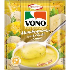 Sopa cremosa de mandioquinha com cebola e salsa Vono 17g