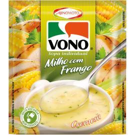 Sopa cremosa de milho com frango Vono 18g
